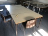 Used Primary School Tables with Drawer and Chairs, Bucks