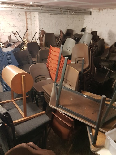 Used Primary School Tables and Chairs, Leeds