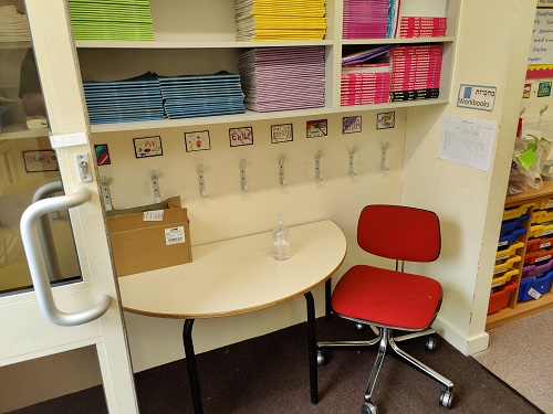 Used Primary School Tables, Chairs and Storage, London