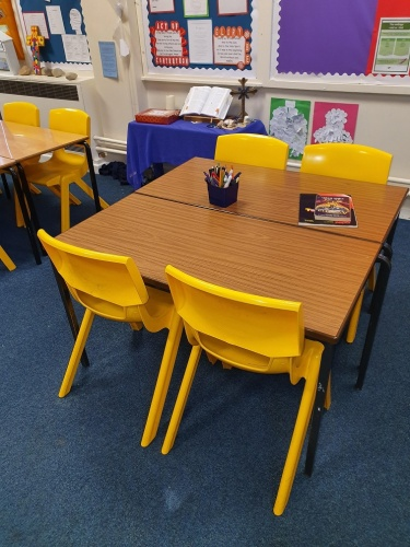 Used Year 1-6 School Tables and Chairs, Lincoln