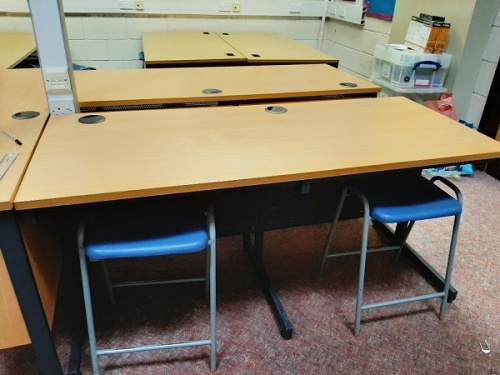 Secondhand School Desks and Stools Cheltenham