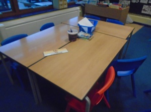 Used KS 1 - KS 2 School Tables and Chairs, Lancashire