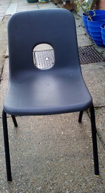 Used Stacking Classroom Chairs, Suffolk